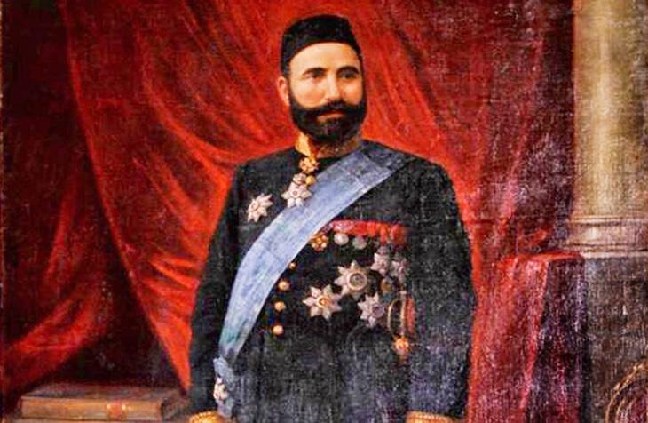 Малоизвестный портрет Гаджи Зейналабдина Тагиева