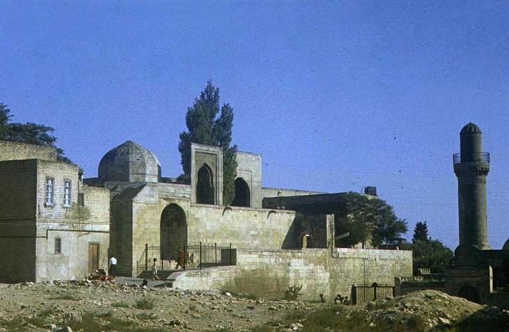 Мечети Ичери-Шехер и дворец Ширваншахов на слайдах 70-х годов (ФОТО)