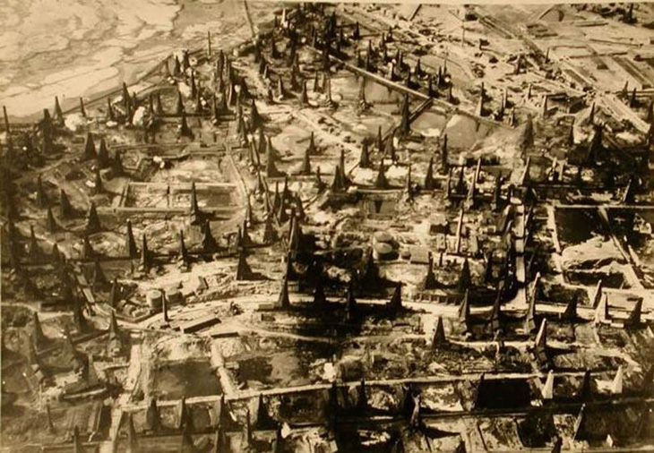 План уничтожения Баку в 1940 году