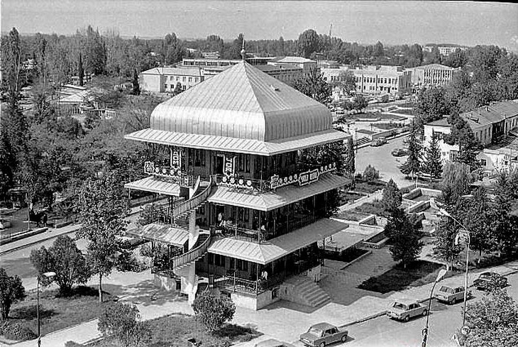 Агдам, знаменитый Чай эви, 1970-е