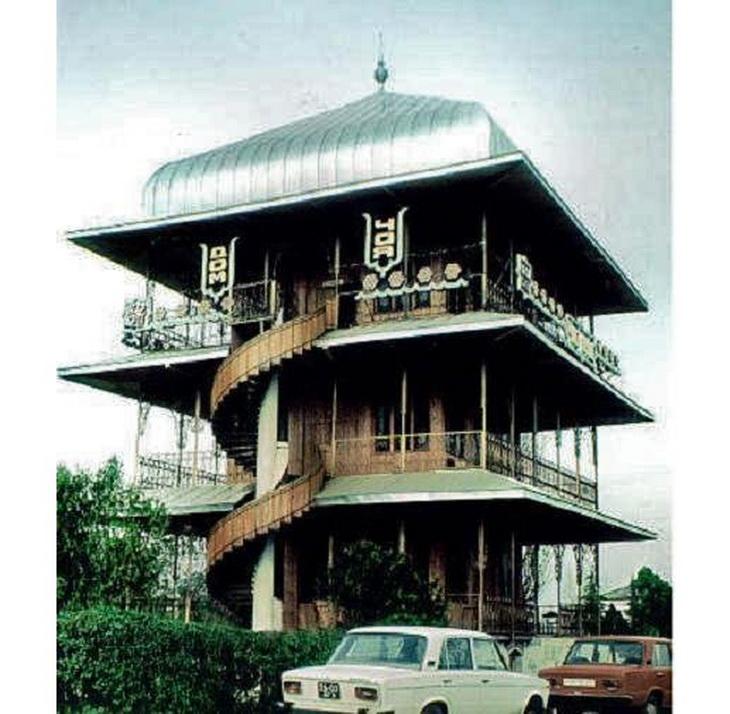 Агдам, знаменитый Чай эви, 1980-е