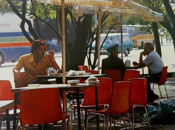 Бакинская чайхана, 1980 год
