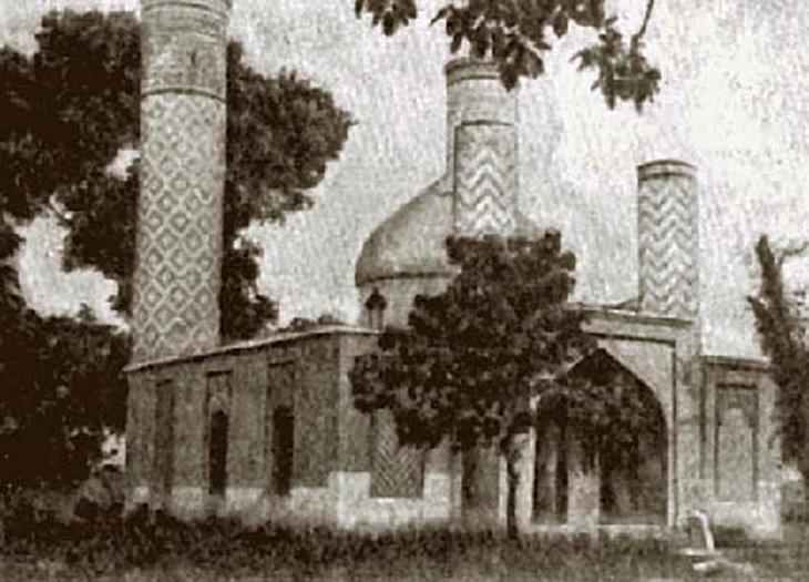 Мечеть-мавзолей Имамзаде, фото 1950-х годов